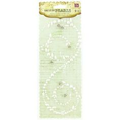 Say It In Pearls White Pearl Swirl with Rosettes | Shop Hobby Lobby