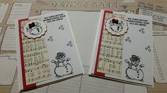 Stampin up Christmas card greetings Weihnachtsgrüße...ich liebe diese Glöckchen