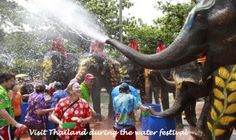 Visit Thailand During the Water Festival