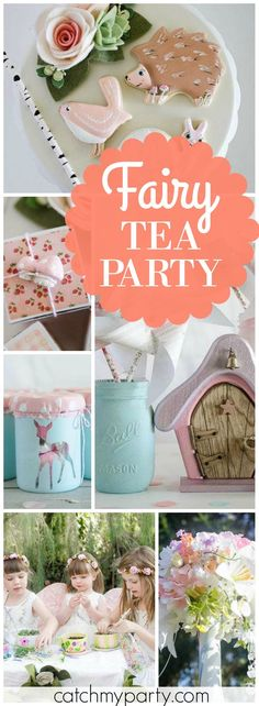 What a delightful woodland pixie girl birthday party! See more party ideas at Catchmyparty.com!
