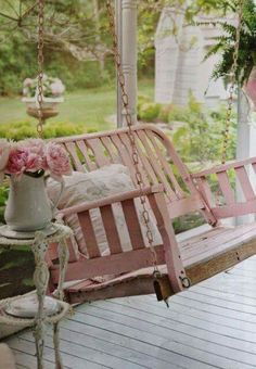 Need to paint my swing pink...