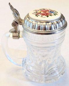Vintage Krugerl Schnaps Shot Glass #BMF