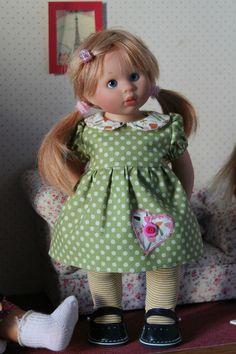 Pantalon pour poupée Wichtel 32cm