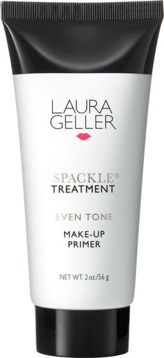 Laura Geller Spackle Treatment Even Tone Make-Up Primer, 2 Ounce *** Continue to the product at the image link. Laura Geller, Natural Wrinkle Remedies, Make Up Primer, Face Primer, New York Beauty, Prevent Wrinkles, Even Skin Tone, Face Cleanser, Color Correction