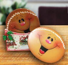 Portavasos navideño de Galleta de Jengibre - Adornos navideños
