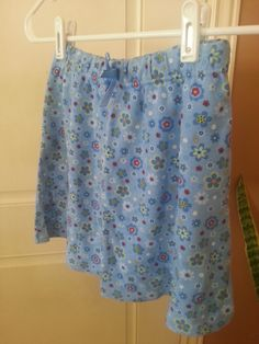 Blue Floral skirt Size 10-12  (wears small more like 7-8) in Wascopete's Garage Sale in Tooele , UT for $3. Blue Floral skirt Size 10-12 (wears small more like 7-8)
