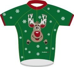 This is brilliant  designed by The Cycle Jersey www.thecyclejersey.com - what a great idea for Xmas 2014  www.creationsocialmedia.com Performance Cycle, Cycling Jerseys, Road Cycling, Cycling Outfit, Design Your Own, Mtb, Christmas Sweaters, Road Trip, Social Media