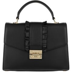 Michael Kors Handle Bag - Sloan MD TH Satchel_ Black - in black -... ($415) ❤ liked on Polyvore featuring bags, handbags, tote bags, black, handbags totes, shopper tote, michael kors tote, purse tote and shopping bag