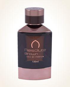 Khalis Resolute Brown parfémová voda 100 ml Body Spray, Bergamot, Fragrances, The 100, Essential Oils, Perfume Bottles, Glow, Beauty, Perfume Bottle