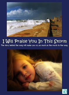 """Flashback Friday: I Will Praise You In This Storm . """"The story behind the song will make you cry as much as the words to the song."""" #PraiseGodThroughTheStorm #GodWillCarryMeThrough #ATattooOnHisPalm"""