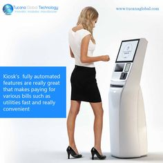 #Kiosk's fully #automated #features are really #great that makes #paying for…