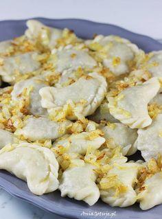 Pierogi z soczewicą Dumplings, Lentils, Cauliflower, Shrimp, Pancakes, Food And Drink, Meat, Vegetables, Recipes
