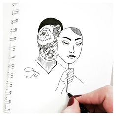 Tumblr Drawing Face Mask