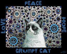 Peace cat. :P