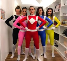 Power Rangers group costume