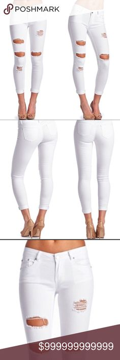 🌟✨COMING SOON ✨🌟 🌸Fall White Pants🌸 A great choice for your fall wardrobe diversity. 98% cotton/2% spandex. October Love Pants Skinny