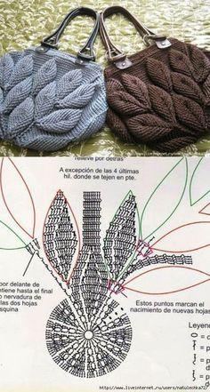 Crochet Handbags Crochet Purses Pola Rajut Knitted Bags Handmade Bags Emboss Purses And Bags Crochet Patterns Crochet Necklace Crochet Pouch, Crochet Baby, Free Crochet, Knit Crochet, Beach Crochet, Cotton Crochet, Flower Crochet, Crochet Shoes, Crochet Handbags