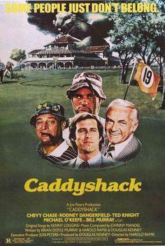Caddyshack Movie Cast Poster 24x36