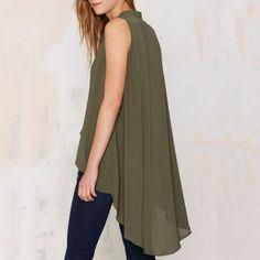 Resultado de imagen para blusa con aplicaciones en el cuello sin mangas