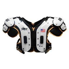 22d4aa97fb4 Douglas 69XL Adult Football Shoulder Pads (X-Large) Defensive Back, Tight  End