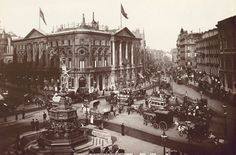 Piccadilly circus en 1890