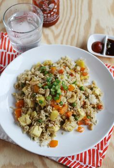 Easy Pineapple Fried Rice - A BEAUTIFUL MESS