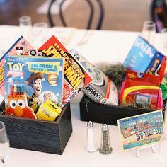 Kids Table Ideas // photo: Trent Bailey Photography // http://www.theknot.com/weddings/album/132659