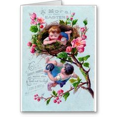 Vintage #Easter Moral Greeting Card