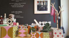 Boutique de décoration Les heures maison comptoir avec pots en carreaux de ciment serax Decoration, Saint, Pots, Home Decor, Counter Top, Cement, Tile, The Hours, Home