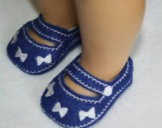 24 Hour Sale Price   18 inch Doll Peppermint Mary Janes In