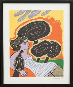 BEVERLOO CORNEILLE, colour lithograph