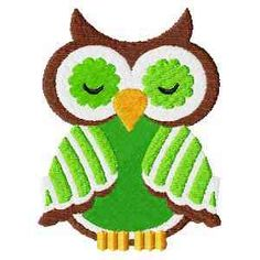 This free embroidery design is an owl.
