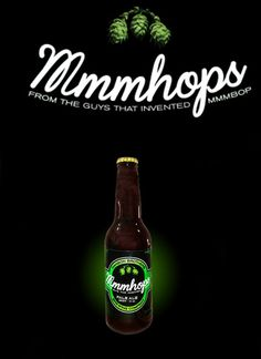 "Hanson Has Their Own Beer And It's Called ""MmmHops"" - BuzzFeed Mobile"
