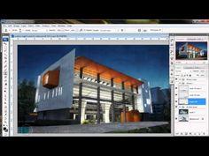 Photoshop Rendering: Wet Street - Alex Hogrefe -YouTube