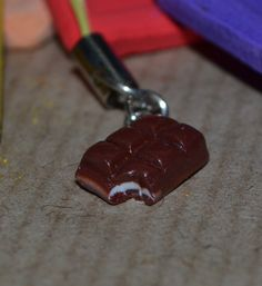 EASTER GIFT - CHOCOLATE BAR handmade phone charm 99p