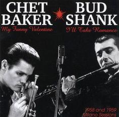Bud Shank & Chet Baker (follow minkshmink on pinterest)