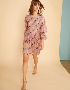 Havana Pintuck Dress                      – Cynthia Rowley