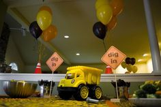 Real Birthday Parties: Construction Theme for a 2-Year-Old Boy: Dig In!