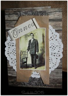 Card for a man