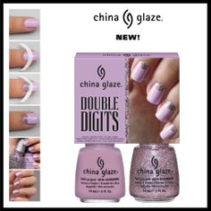 China Glaze Kit - Double Digits  (includes Sweet Hook and Full Spectrum)