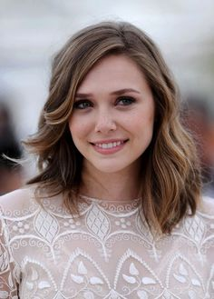 "Elizabeth Olsen Photos Photos - Annual Cannes Film Festival - ""Martha Marcy May Marlene"" Photocall.May - Cannes 2011 - ""Martha Mary May Marlene"" Photocall. Elizabeth Olsen Scarlet Witch, Olsen Sister, Head Band, Elisabeth, Mi Long, Cut And Color, Trendy Hairstyles, Rapunzel, Her Hair"