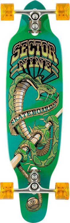 Striker Sidewinder Longboard by Sector 9