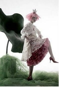 """A Thumb Princess""   Model: Daul Kim, Photographer: Kim Jun Han, Vogue Korea, March 2006"