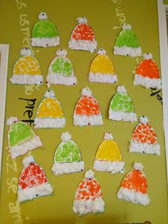 Winter Crafts For Toddlers, Crafts For Kids To Make, Toddler Crafts, Art For Kids, Preschool Art Activities, Kindergarten Crafts, Winter Activities, Preschool Christmas Crafts, Snowman Crafts