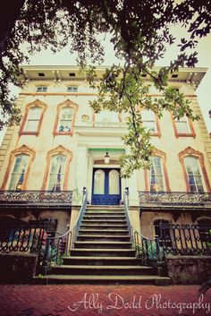 Mansions on the Squares --- Savannah --- Ally Dodd Photography