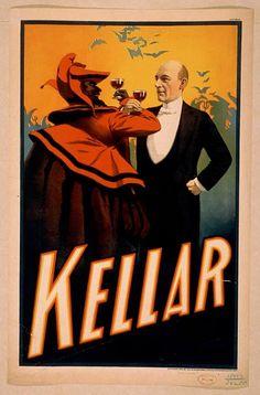 Harry Kellar, 1899. Library of Congress.