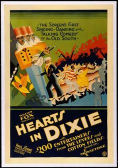 Black Hollywood: Hearts in Dixie by Black History Album, via Flickr