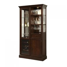 Curios Curio Wine Cabinet w/ LED Lighting by Pulaski Furniture at Belfort Furniture Bar Cabinet Furniture, Brown Furniture, Cabinet Ideas, Pulaski Furniture, Parks Furniture, Furniture Ideas, Belfort Furniture, Wine Cabinets, Curio Cabinets