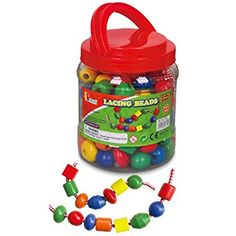 Viga Lacing Beads Jumbo Tub
