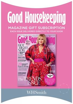 472b836618 Buy Good Housekeeping Magazine Subscription Gift Pack From WHSmith today!  FREE delivery to store or